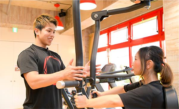 効率ダイエットのカギ!トレーニングのプロが知識と経験でつくるオーダーメイドプログラム