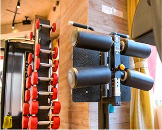 トレーニングの器具